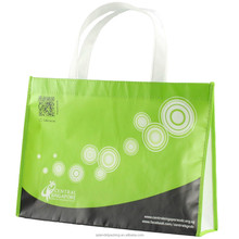 Recyclable non woven custom tote bag