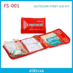 Easy carrying high quality cheap roadside emergency kit