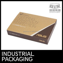 Soy Ink foldable corrugated box for pad