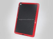 Alibaba China hot sales PU+TPU doule colors protective case for ipad mini