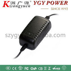 YGY desktop 12w 12V1A cctv switching power supply