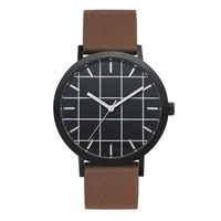 Top brand style design custom watch face quartz Japan movt watch
