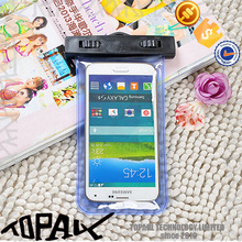PVC waterproof bag/Waterproof Mobile Phone Case for sumsung s6