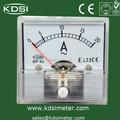Bp-45 amperímetro voltímetro vertical del panel medidor de corriente continua