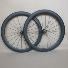 50mm Carbon Wheels 650C Road Bicycle Wheelset Clincher 23mm wide 3k matte