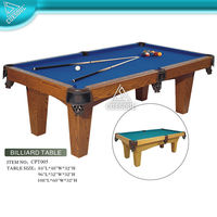 CUESOUL 7FT POOL TABLE MADE OF MDF, EXCELLENT FOR HOME ENTERTAINMENT