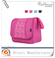 personal hanging polyester fashion women's portable toiletry bag