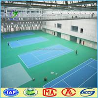 international standard indoor pvc vinyl flooring badminton court
