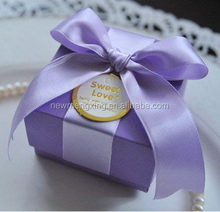 Popular cheapest decoration for wedding sweet box