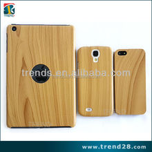 plastic material wood grain tablet pc case for Ipad mini