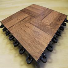 Customized PVC surface PP printed interlocking planks