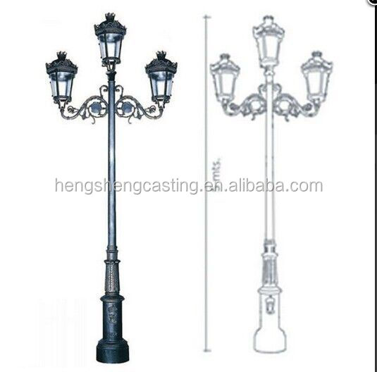Alibaba express pole lights outdoor pole lights cast iron pole qq20141126165924 aloadofball Image collections