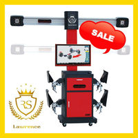 Highly Popular Lawrence RS-8 Wheel Alignment with Unique 3d targets