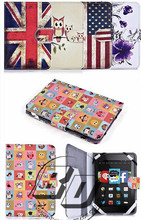 Fashionable Popular Printed PU Leather With Card Slots Tablet case For Amazon Kindle Paperwhite 3/2/1 lowest price