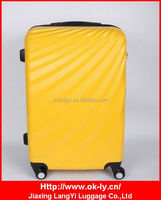 Cheap Low Price Expanding ABS pc 4-wheel Roller Case
