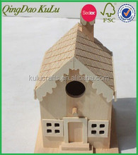 new eco-friendly decoration wooden bird houses,wood carved bird houses,mini decorative bird houses