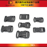 Plastic luggage lock buckle for bag quick release plastic buckle