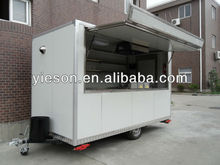 2014 Factory Direct mobile food trailer trailer container house YS-FV350