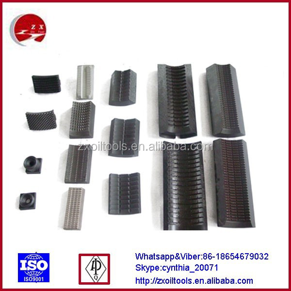 Power Tong Jaws: Hydraulic/manual Tong Dies/power Tong Jaw And Slip Insert