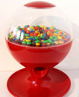 touch automatic activated candy/gumball/nut/snack dispenser