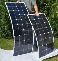 Sunpower cells flexible solar panel 90w