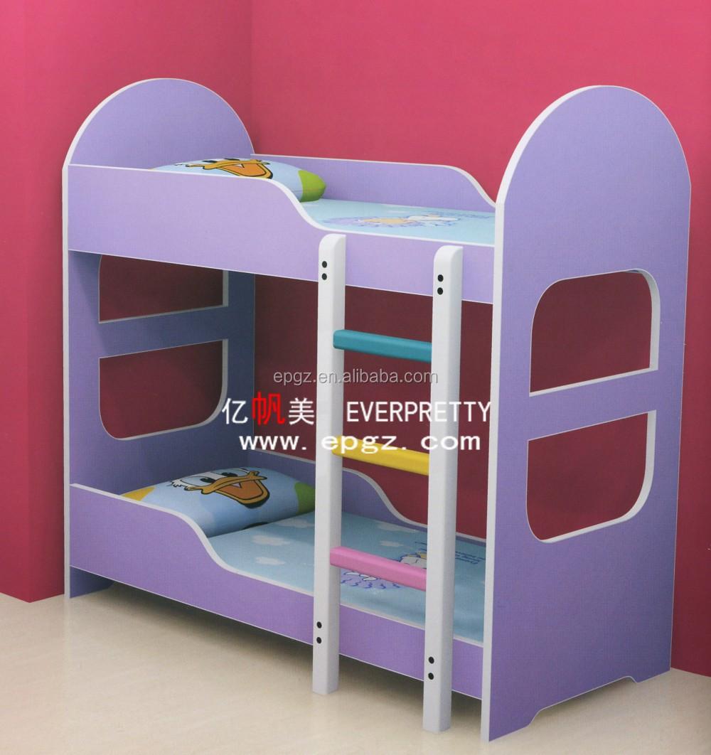 Etagenbetten mit rutschen für kinder, holz doppelbett, kinder ...