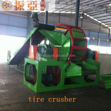 Waste Rubber Tyre Recycle Machine/Used Tyre Recycling Plant/CE waste Tire Shredder