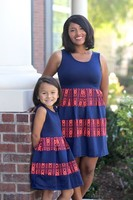 mommy and me dresses vintage dress new ladies simple fashion dress
