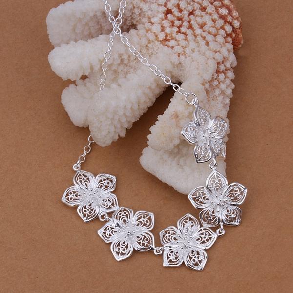 Мода ювелирные изделия, 925 Стерлинг серебряное ожерелье, 925 ювелирных изделий, 925 ювелирных изделий стерлингового, n336
