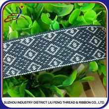 design mens underwear Jacquard elastic band using Japanese fabric for Suspenders and Belts