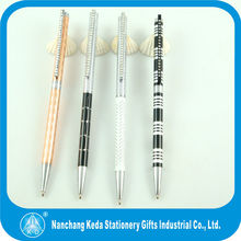 2014 luxurey stationery super junior new design custom promotional pens with rhinestone