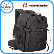 Alta calidad multifuncional y cámara impermeable bolsas mochila para fotografía