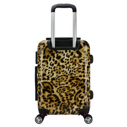Leopard luggage, printed suitcase