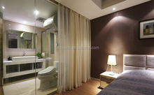 Living room glass partition design/partition wall