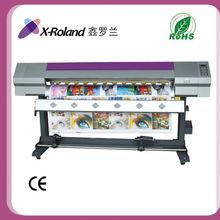 X-Roland máquina de impresión a base de aceite máquina para imprimir pegatinas de vinilo