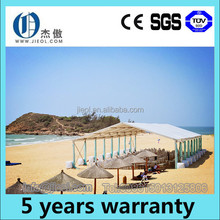 15m width aluminum party tent with arch roof