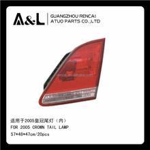 tail lamp for toyota crown 2005