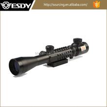 Newest design Tactical 3-9X40E spotting air gun rifle scope