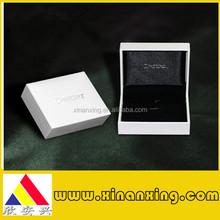 Black branded gift box with foam insert