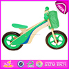 hot sale wooden balance bicycle,new fashion kids bicycle W16C078-3