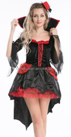 Sexy Vampire Costume For Women Fantasy Halloween Queen Costumes Cosplay Hot High Quality