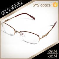 Latest trency pure titanium spectacle frames beta titanium optical frames