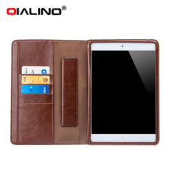 best seller 2015 for ipad 4 cover ,genuine leather case for ipad 4