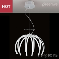 Modern pendant light special white large round pendant light