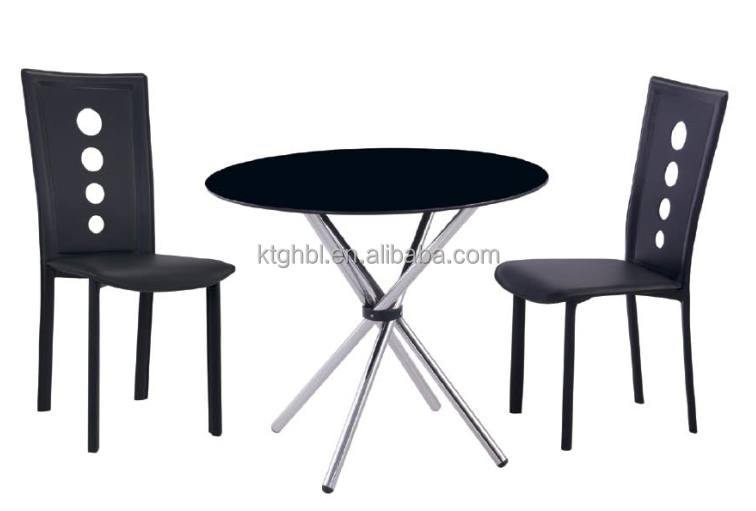 Round Glass Dining Table Negotiating Table Series Buy 4 Seater Round. John  ...