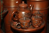 Earthenware antique made in bayat id