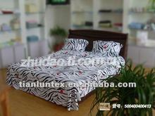 bedding products (four pieces) made by bamboo