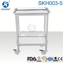 CHINA FACTORY!!!instrument nursing trolley stainless steel