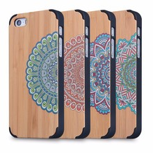 color printing custom for wood iphone 5 cases for iphone 5s wood cases hot sellingcell phone accessory wholesale 2015 newest