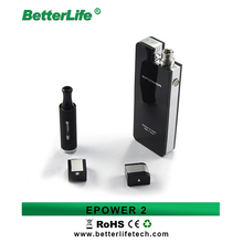 Multifunction Epower2 portable mobile power e cigarette charging case